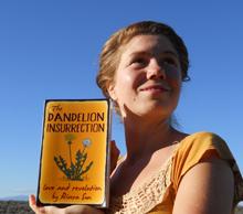 Rivera Sun, author of The Dandelion Insurrection
