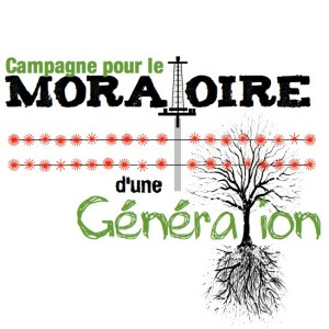 One Generation Moratorium sought to ban hydraulic fracturing for natural gas in Quebec for a generation's time.